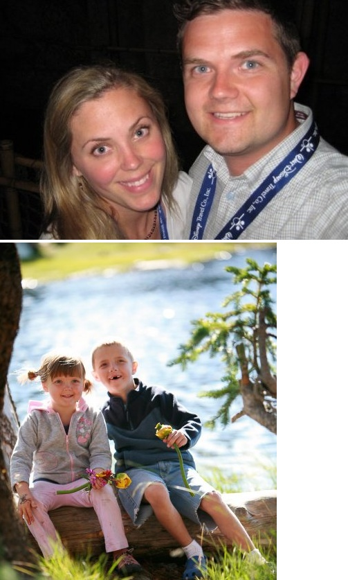 Photos Courtesy Bryan Rowland My family, wife - Cherolyn - Kids, Bentley & Cecily