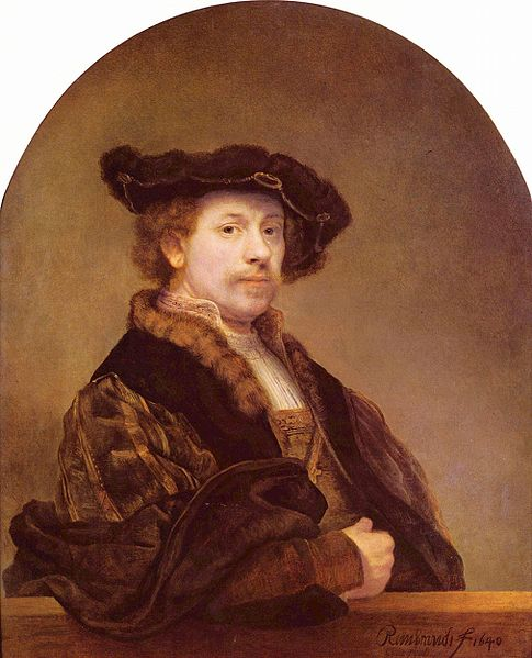 Rembrandt Self-Portrait Courtesy Wikimedia Commons