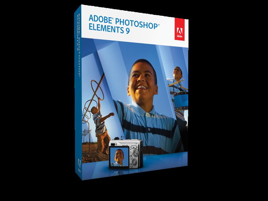 Photoshop Elements 9 Box Shot