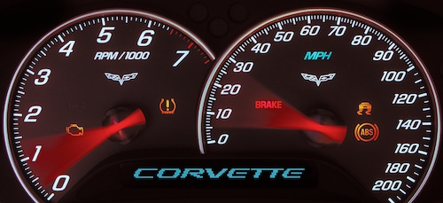Corvette Speedometer by Scott Bourne