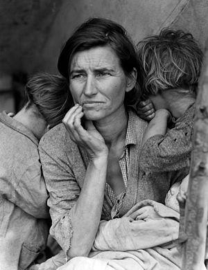 Migrant Mother by D. Lange - Photo Public Domain