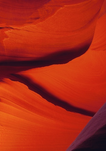 Photograph of Slot Canyon near Page Arizona by Scottbourne.com - Lower Antelope Corkscrew Slot Canyon - landscape.