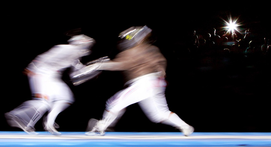 """Fencing Flash"""