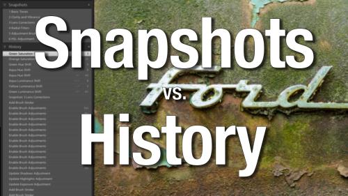 Snapshots vs. History
