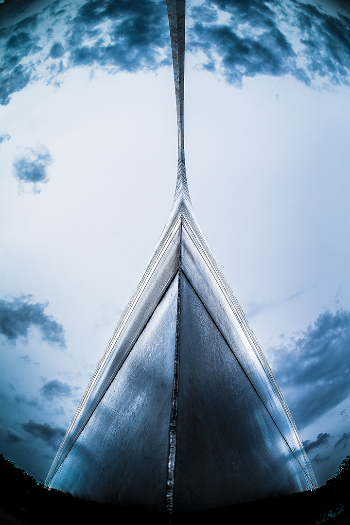 The Gateway Arch, St. Louis, MO.