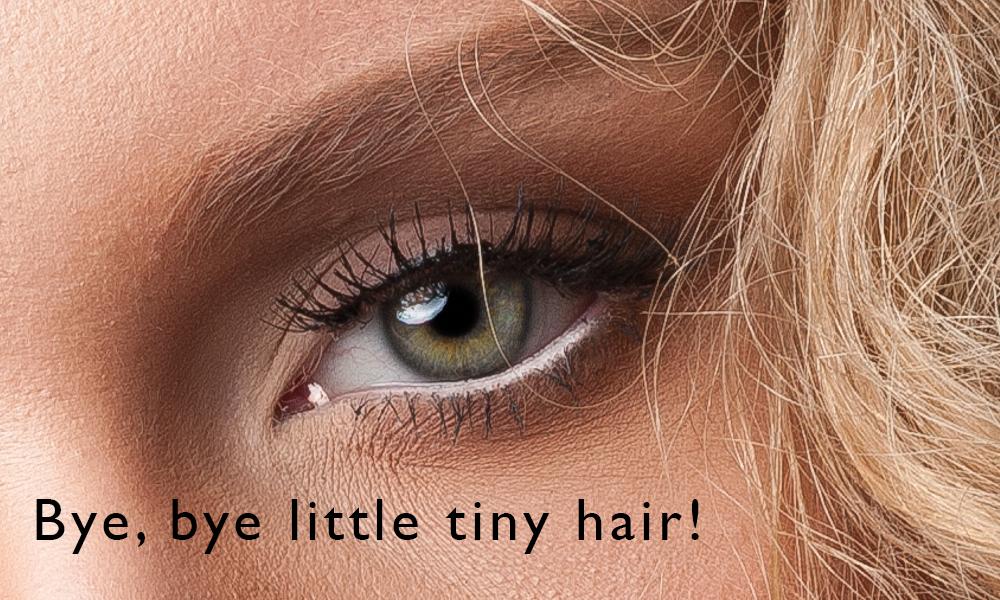Little tiny hair