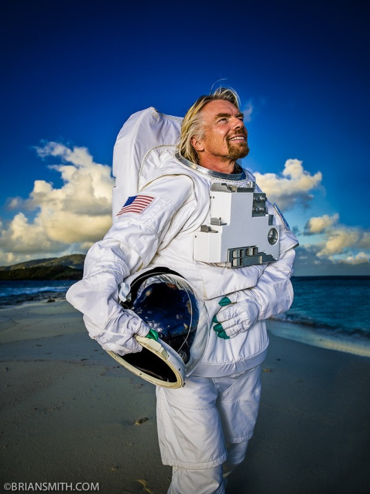 Richard Branson - Virgin Galactic - Necker Island, BVI