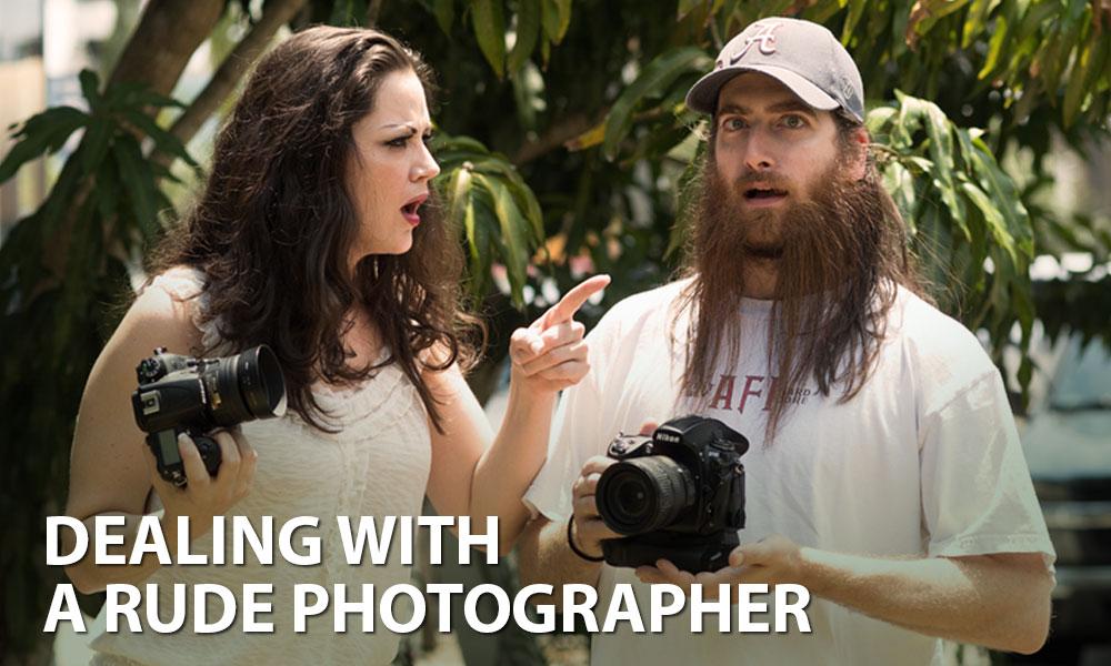 Rude-Photographer