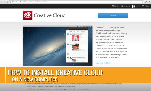 How-To-Install-CreativeCloud-On-A-New-Computer