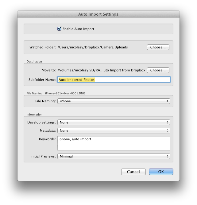 How to Transfer Mobile Photos to Lightroom using Dropbox | Photofocus (old  site)