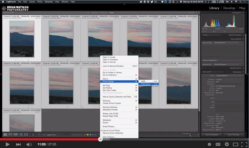 Lightroom CC's New Brush Feature For The Graduated Filter
